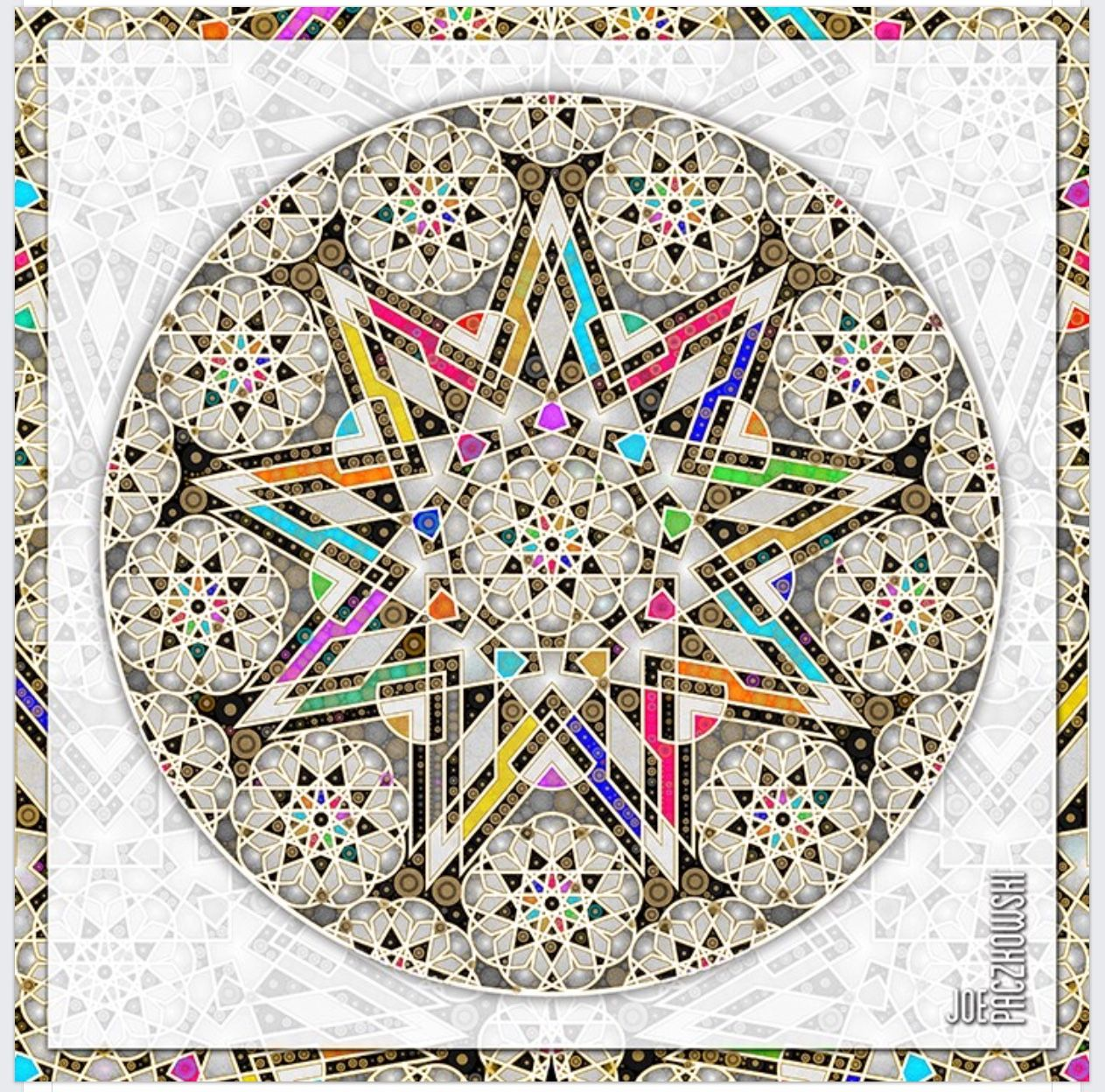 Pin by Diane Findlay on 9 pointed stars Beach mat