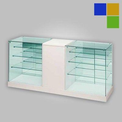 vitrine comptoir avec meuble modele