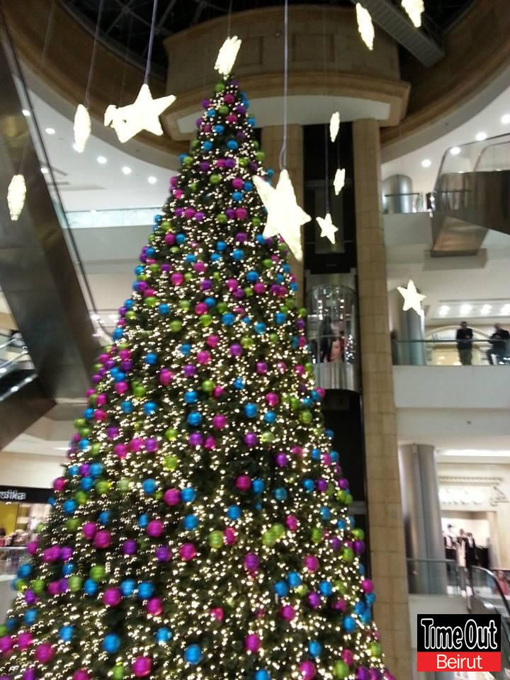 Tobxmas13 Lebanon Beirut Christmas Holiday Decor Christmas Seasons Hotel