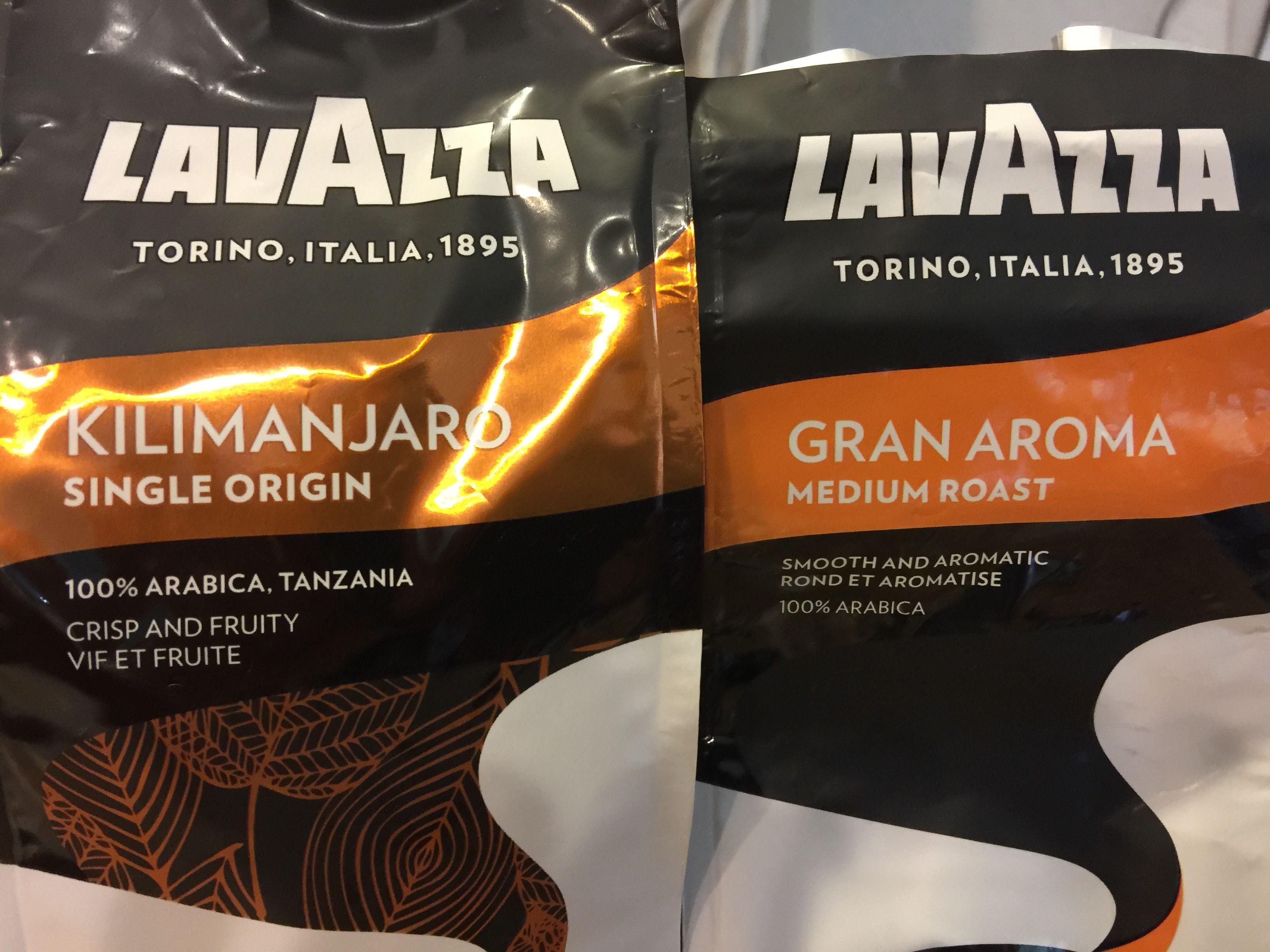 Lavazza ground coffee. Think I prefer the Gran Aroma