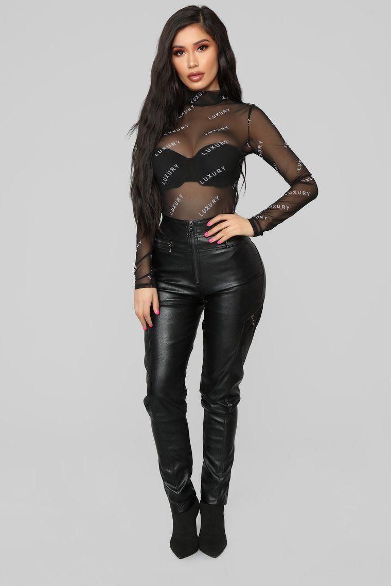 78c0c86bd709 Life Of Luxury Bodysuit - Black in 2019