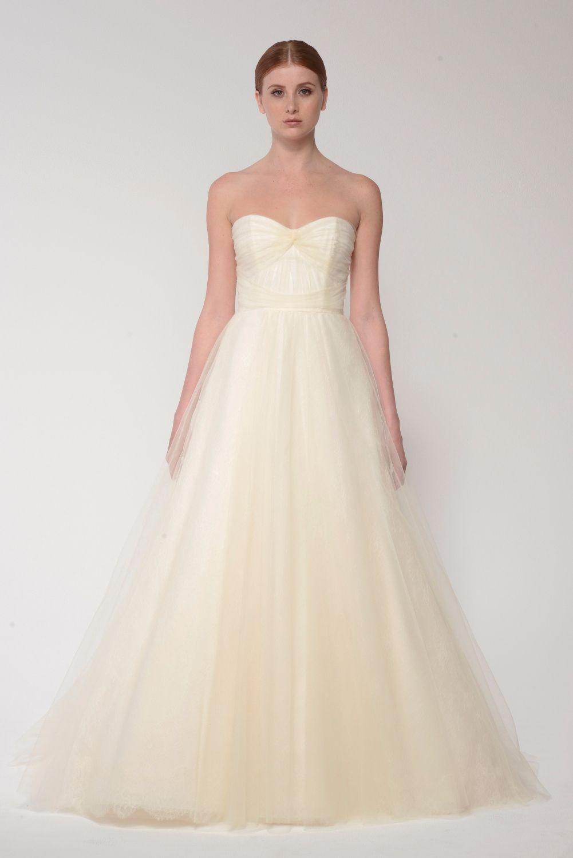 b619b54184 Ballgown wedding dress Monique Lhuillier Bliss Bridal Collection - BL 1412