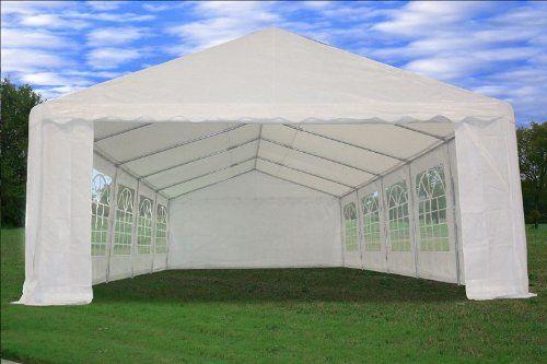 Amazon.com 32u0027x16u0027 Heavy Duty Wedding Party Tent Canopy Carport White & Amazon.com: 32u0027x16u0027 Heavy Duty Wedding Party Tent Canopy Carport ...