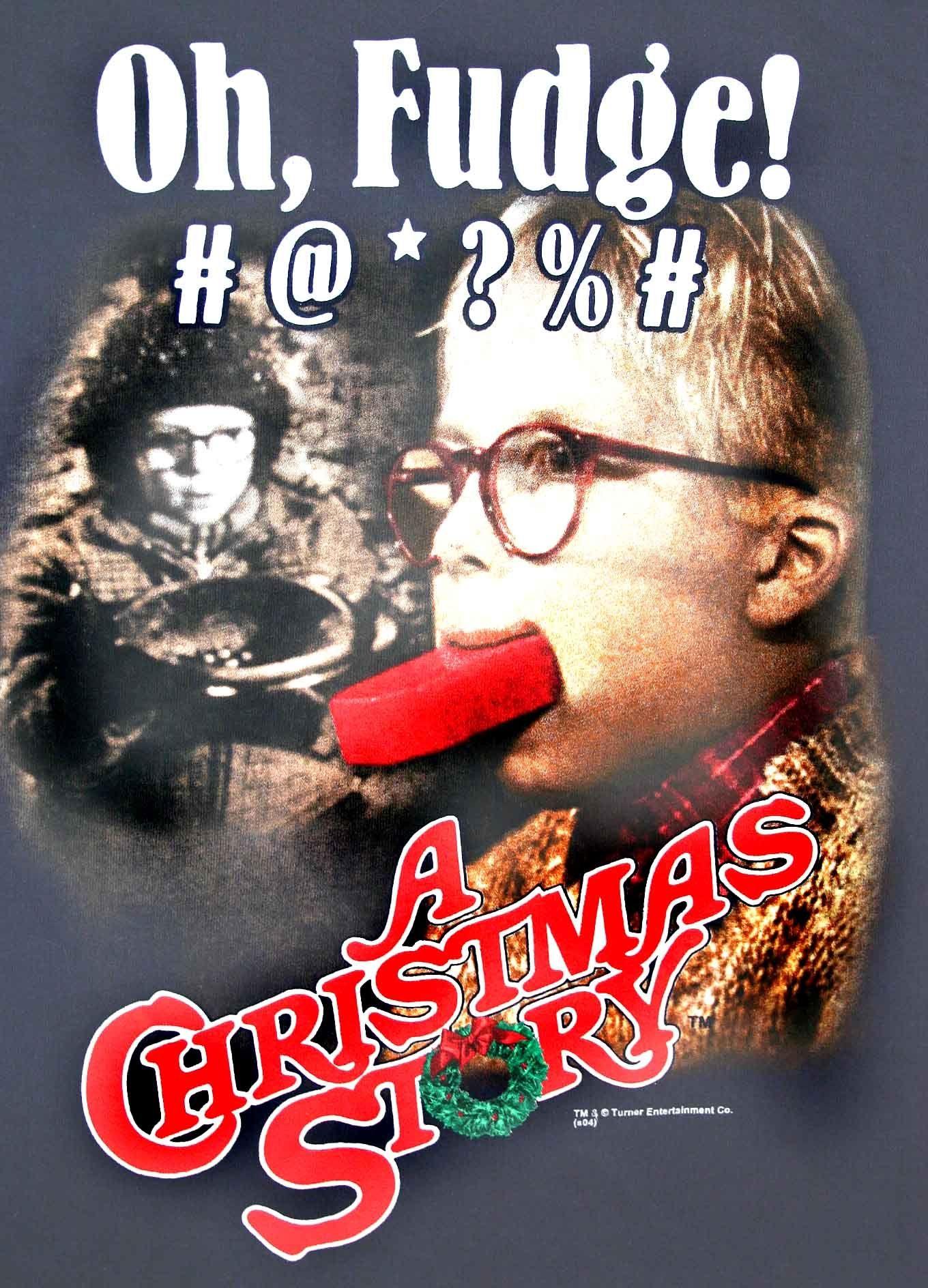 Christmas Story Oh Fudge t shirt.jpg | Fra-gee-lay! | Pinterest