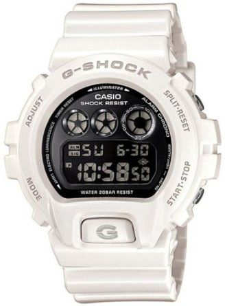 Casio G-Shock Mirror-Metallic White Mens Digital Watch - Casio DW6900NB-7 ffb43b466d2f