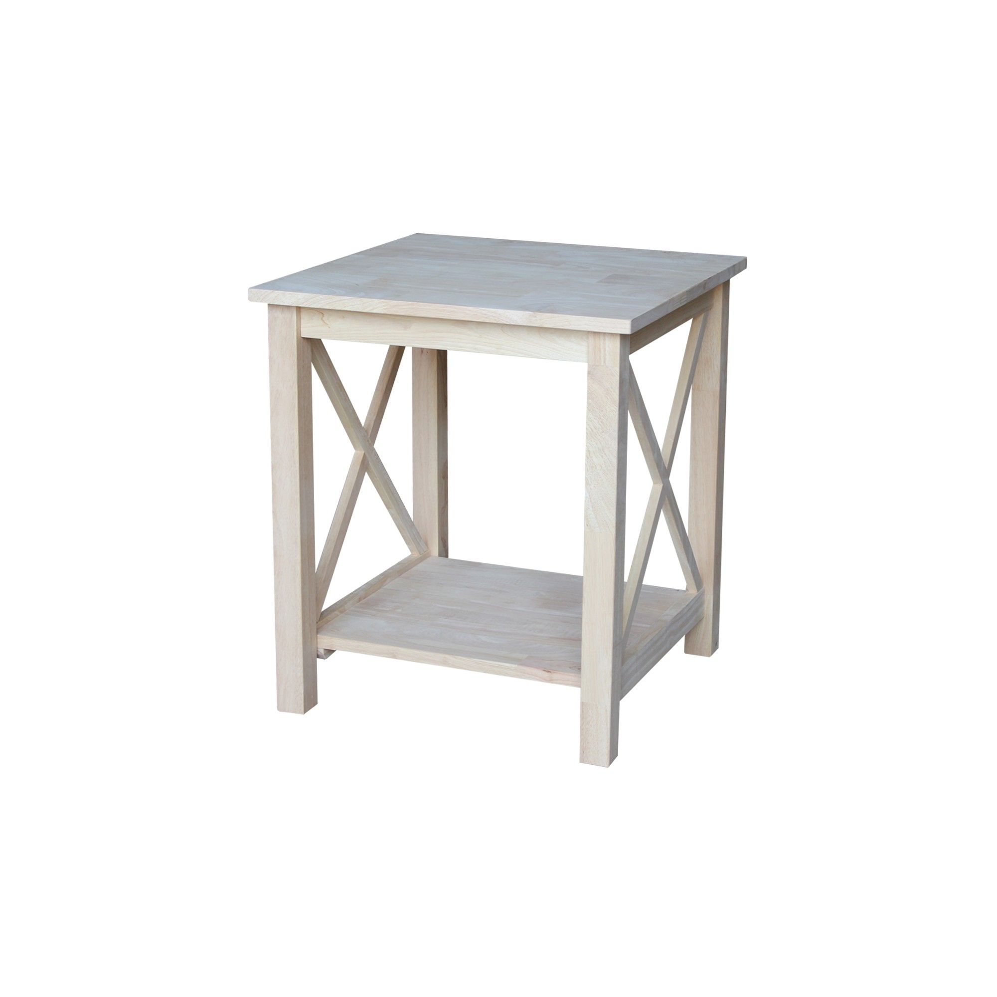 Hampton End Table International Concepts Wood In 2019 Products