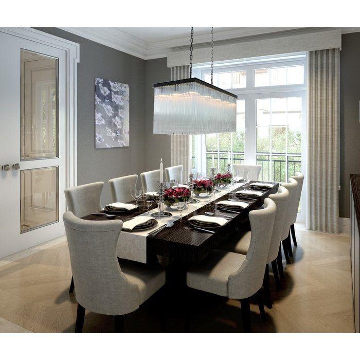 16 Absolutely Gorgeous Mediterranean Dining Room Designs: Astrid 15-Light Kitchen Island Pendant- Dining Room Light