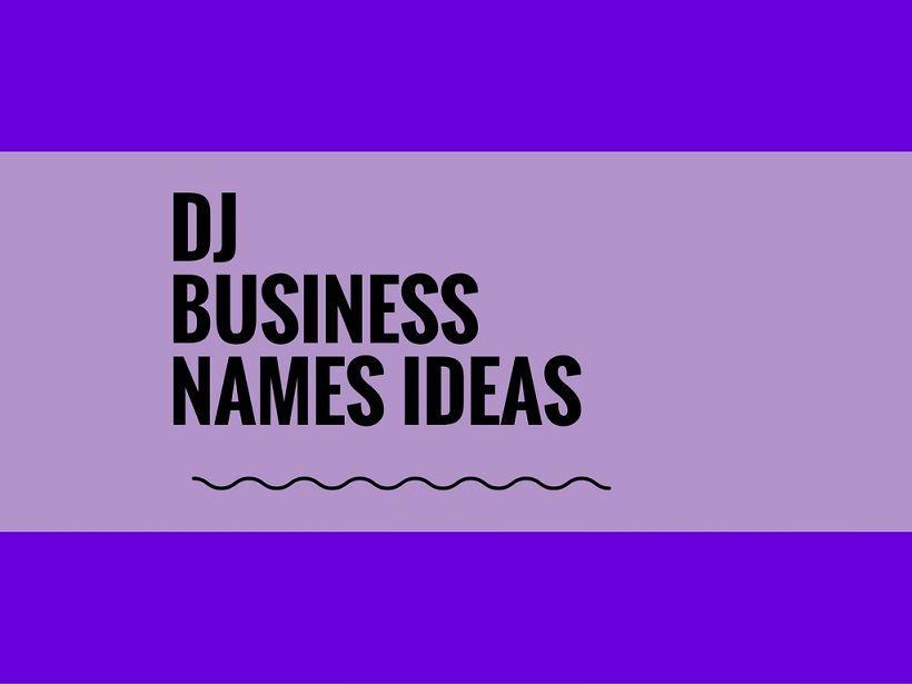 dj company names - Hizir kaptanband co