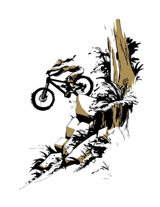 Picture Ilustracion De Bicicleta Arte De Ciclismo Arte Bicicleta
