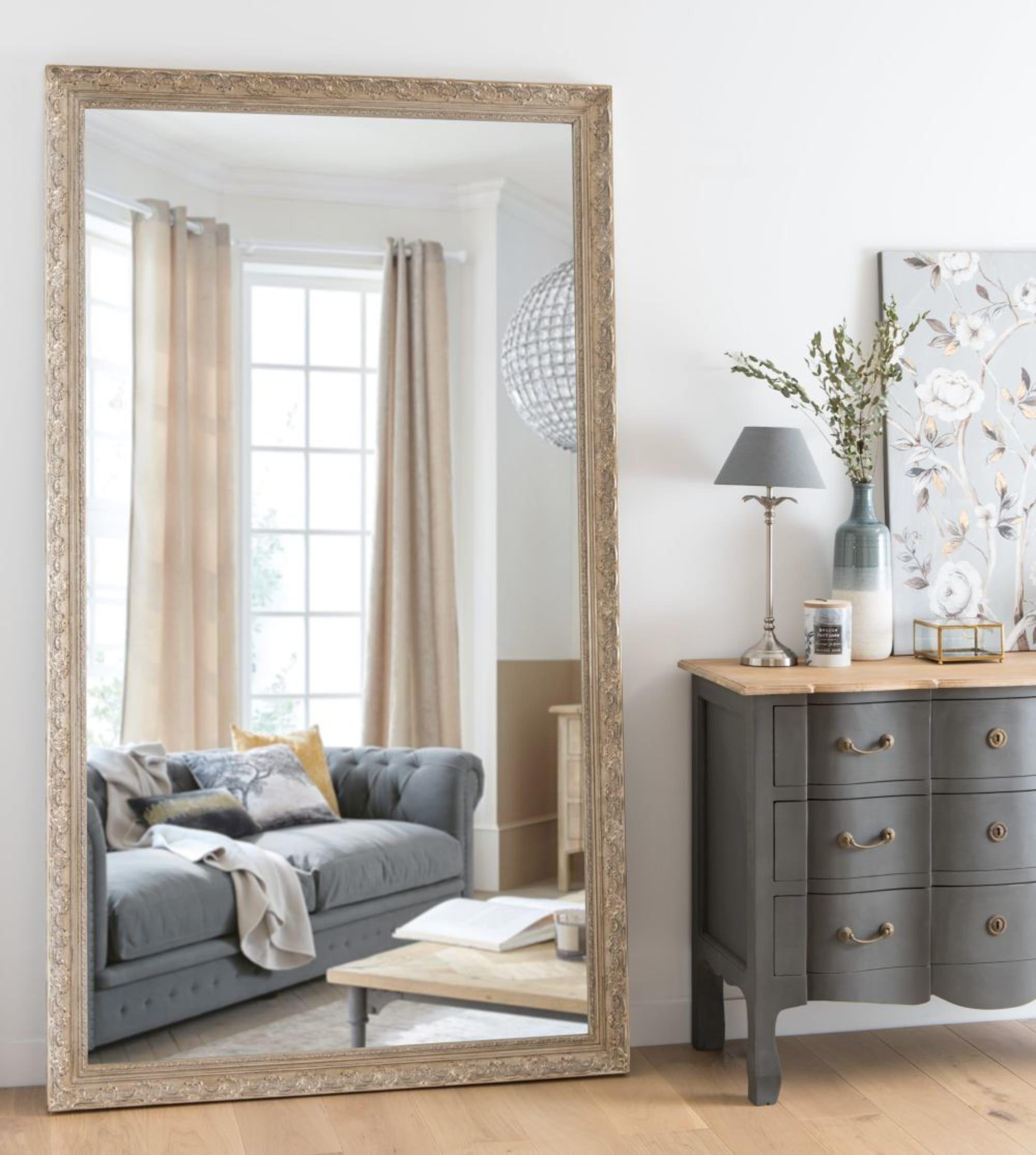 Miroir Sculpte Irise 120x210 Maisons Du Monde Flat Interior Large Bedroom Mirror Bedroom Interior