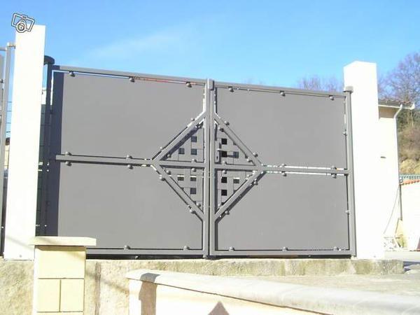 Fabriquant de portail aluminium portail et portillon Pinterest