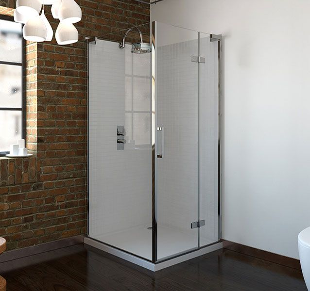 6mm Frameless Hinged Shower Enclosure 760 X 760mm V10121037kw Scene Square Large Quadrant Shower Enclosures Shower Enclosure Quadrant Shower