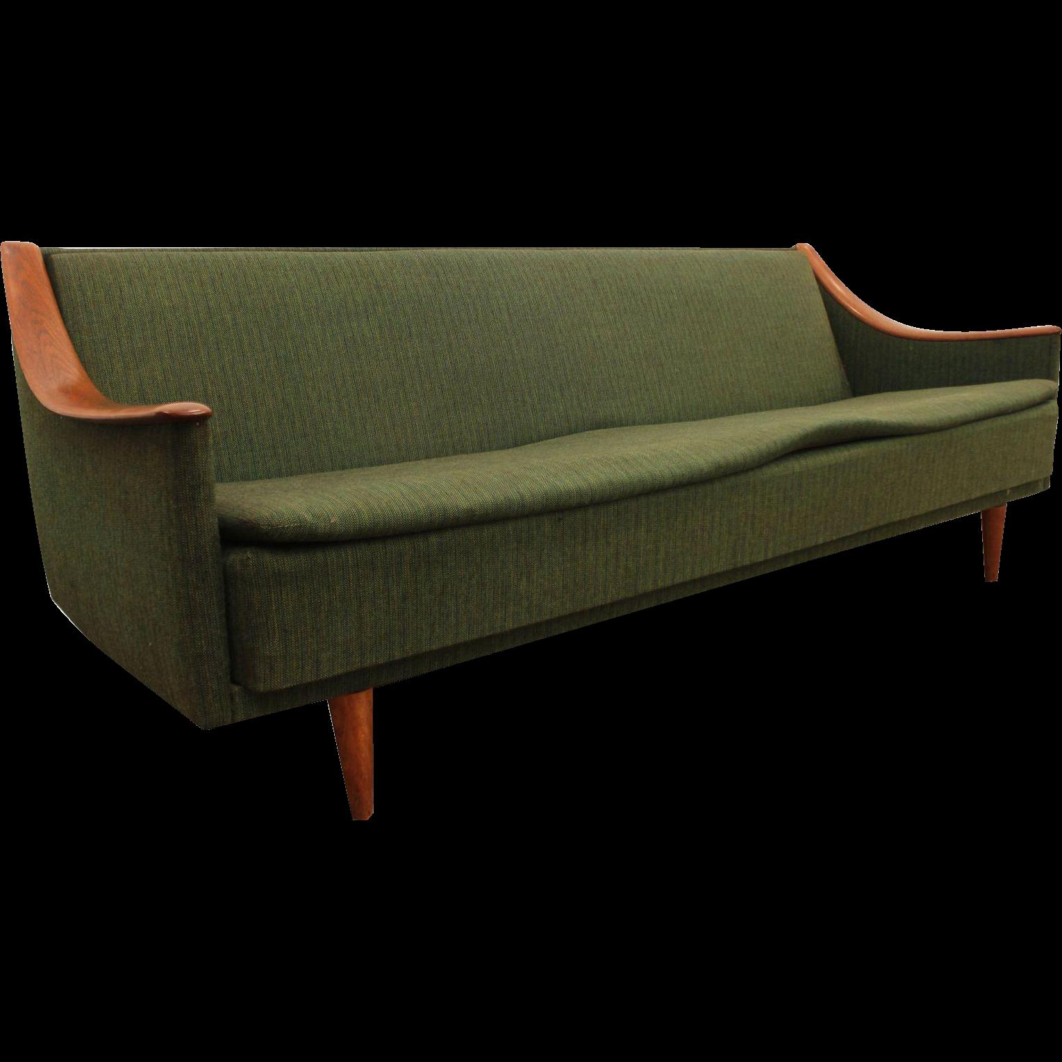 Mid Century Danish Modern Adrian Pearsall Style Sofa
