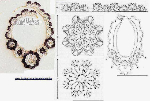 Arts avec Capricho: arts graphiques Crochet ... (9)