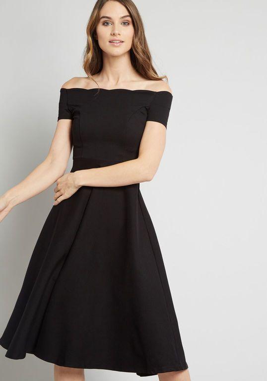 Pin by Sara Hackney on Engagement photo dresses | Off shoulder dress, Mod  cloth dresses, Dresses