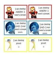 Image Result For Inside Out Zones Of Regulation Zones Of
