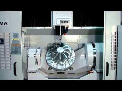 Okuma S Five Axis Vertical Machining Center Mu 500va