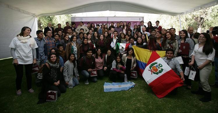 IPN da la bienvenida a 129 estudiantes foráneos
