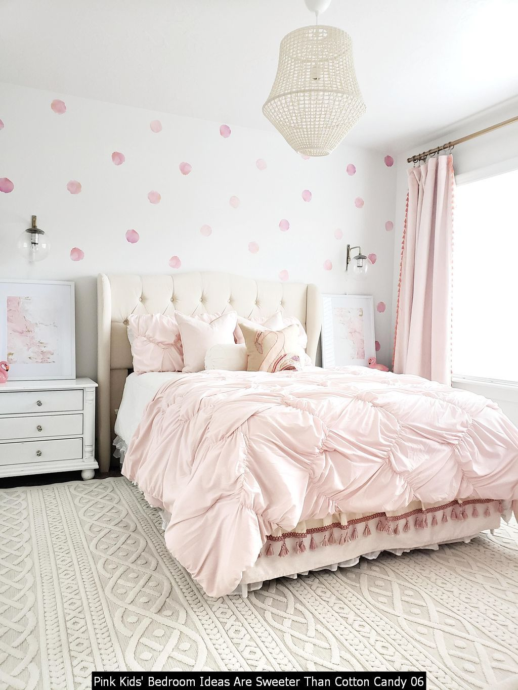 Adorable 27 Pink Kids Bedroom Ideas Are Sweeter Than Cotton Candy Girls Room Design Pink Kids Bedrooms Bedroom Decor
