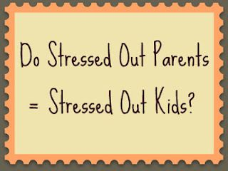 Which came first?  The stressed out parents or the stressed out kid?  New Research makes you stop and think...