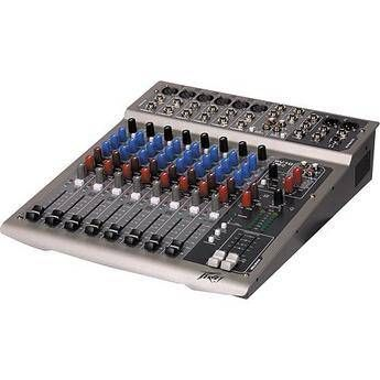 Peavey PV10 USB 10-Channel Recording Mixer with USB and DSP