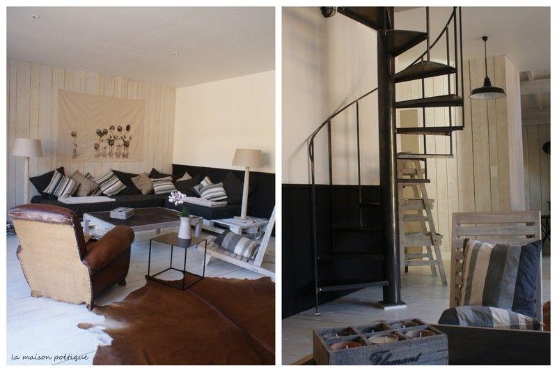 la maison poetique atmospheres pinterest poetique la maison et maisons. Black Bedroom Furniture Sets. Home Design Ideas