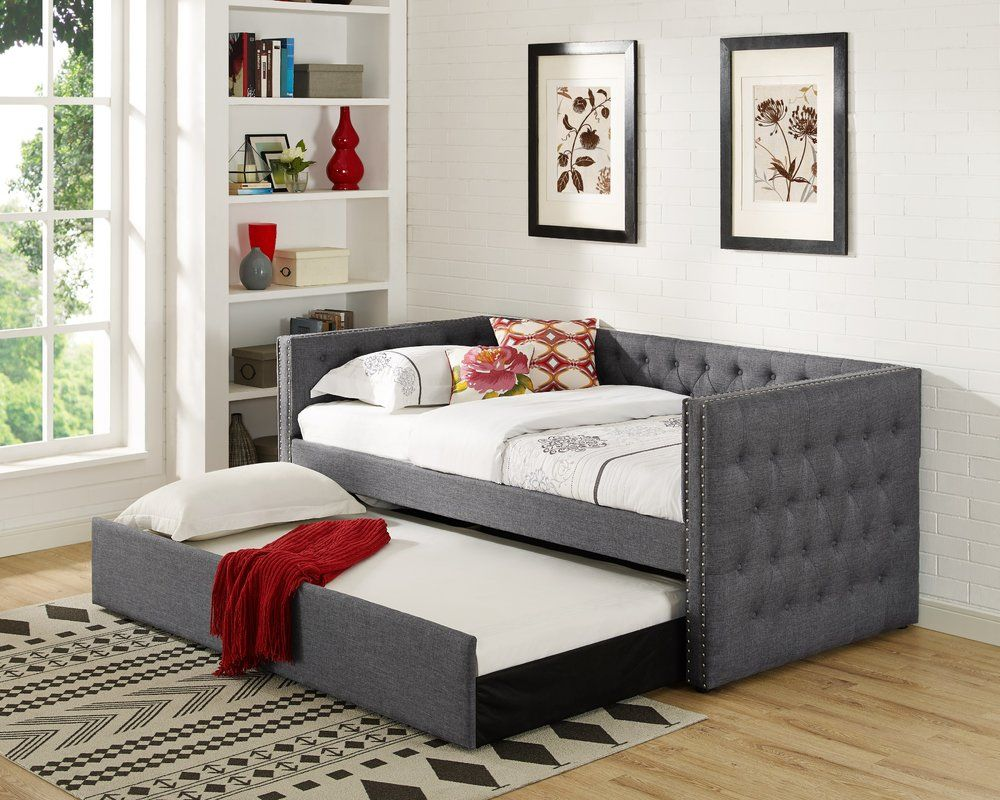 Clark Twin Daybed With Trundle Daybed With Trundle Twin Daybed