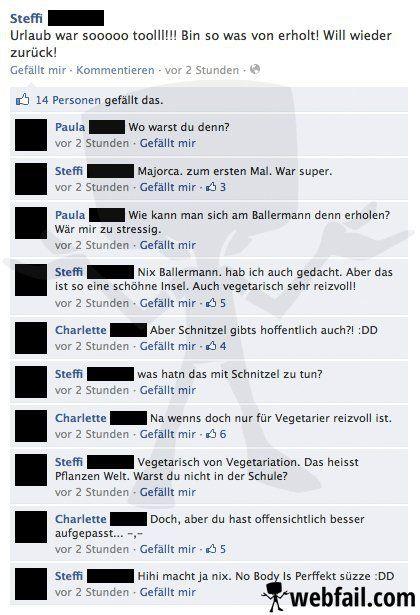 facebook status sprüche Facebook Fails: Die 50 peinlichsten Facebook Status Sprüche | 1  facebook status sprüche