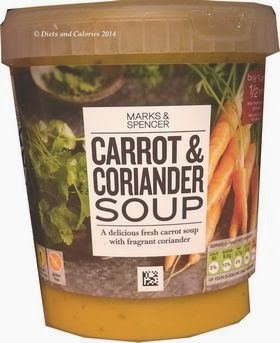 Diets and Calories: 18 Marks & Spencer Soups - Update 2014