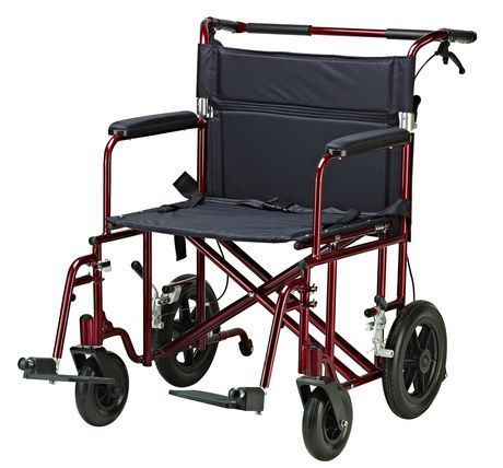 Drive Medical Bariatric Heavy Duty Transport Chair Transport