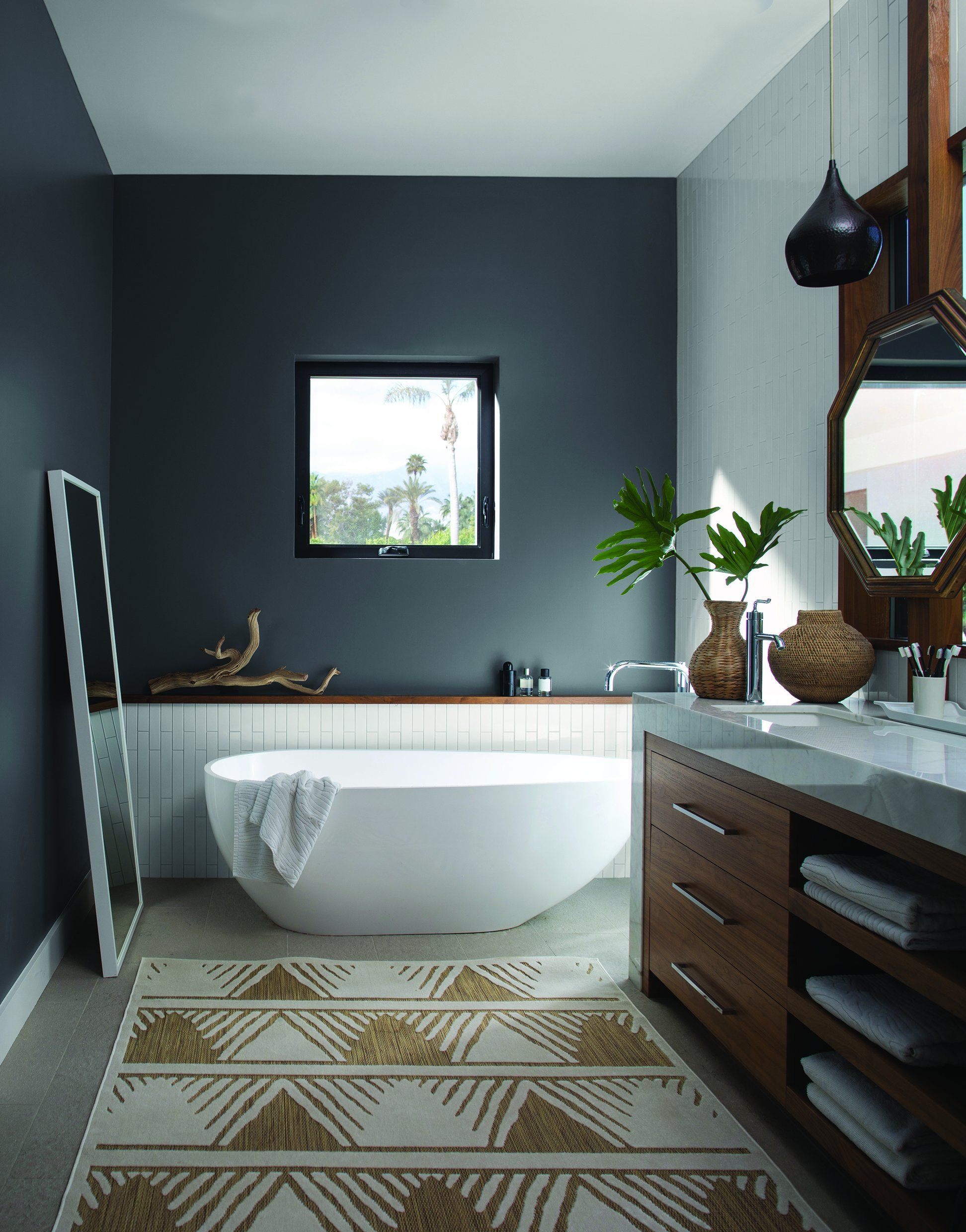 Catalina Paints Perfectly Balanced Bathroom In 2020 Best Bathroom Paint Colors Tranquil Bathroom Bathroom Colors