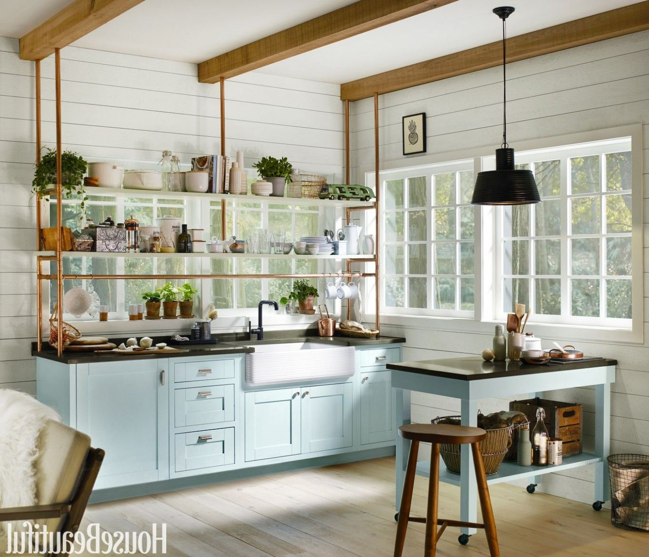 tiny kitchen designed by kim lewis house beautiful kitchen tiny kitchen design kitchen design on kitchen remodel apps id=95206