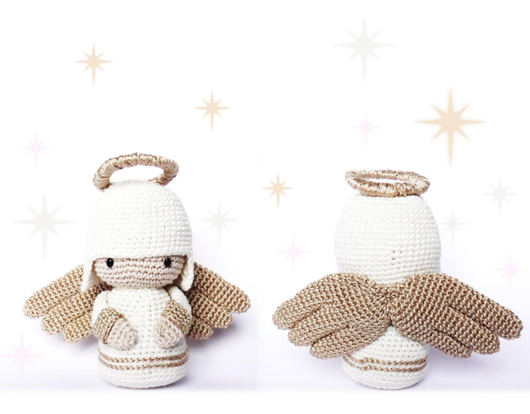 ANGEL Crochet Pattern, Kokeshi Doll | Pinterest | Patrones de ...