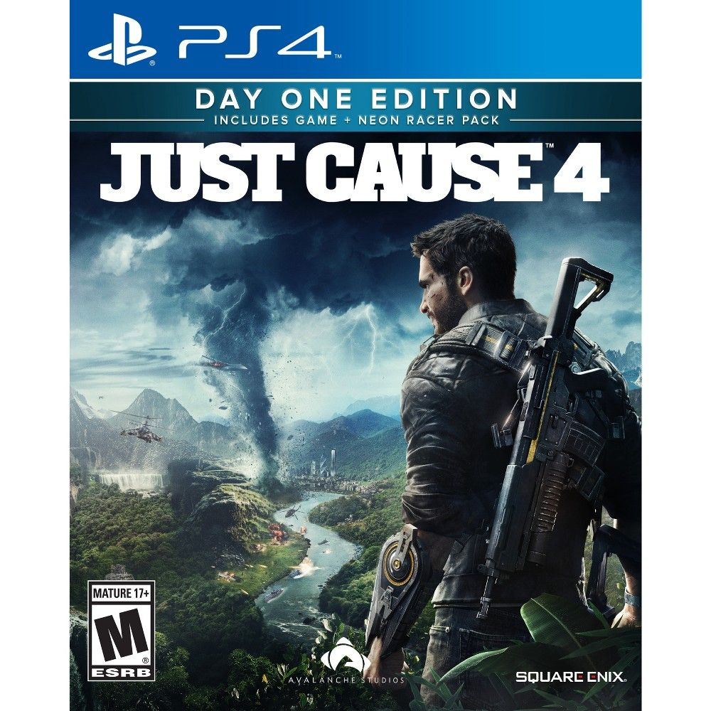 Just Cause 4: Day One Edition - PlayStation 4   Video Games