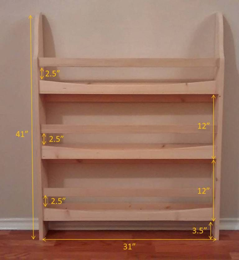How To Build A Pottery Barn Kids Madison Bookrack