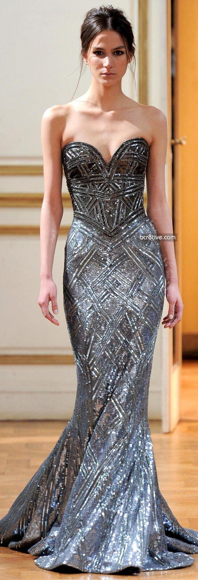 #noble wedding dresss #gorgeous wedding dress #Zuhair Murad Fall Winter 2013-14 Haute Couture Collection #escherpe