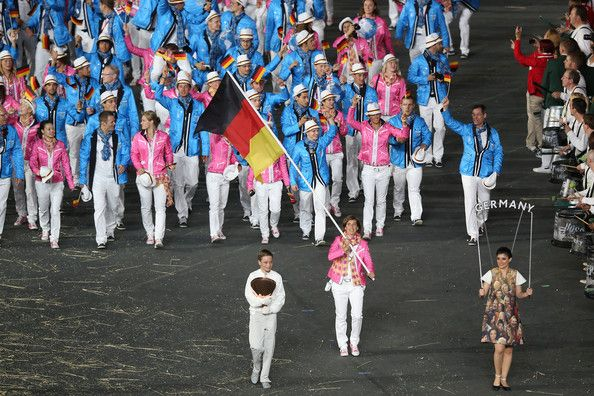 2012 Olympic Games - Opening Ceremony. Oh Germany.