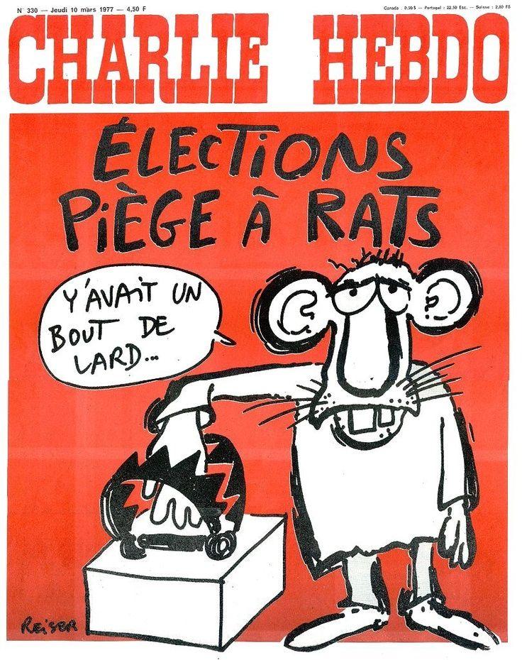 Charlie Hebdo 330 10 Mars 1977 Couverture Reiser