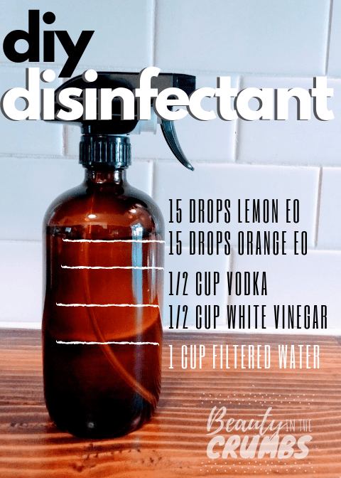 DIY Disinfecting Spray Disinfectant spray, Antibacterial