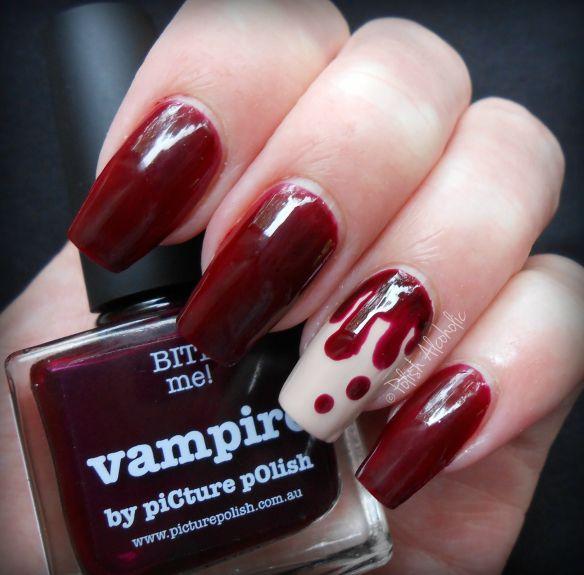 piCture pOlish: Vampire http://polishalcoholic.com/ | Projects to ...