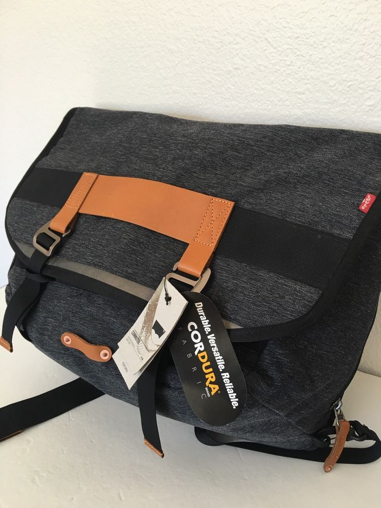 bb19af566ef Levis Strauss   Co. Unisex Bag Laptop Tablet Ergonomic Design Water  Repellent   eBay