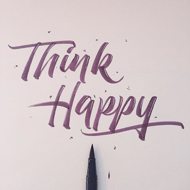 183/365 Think Happy  This practice is definitely paying off and I am enjoying it! I couldn't just leave it plain tonight had to add in some highlights! by ligatures