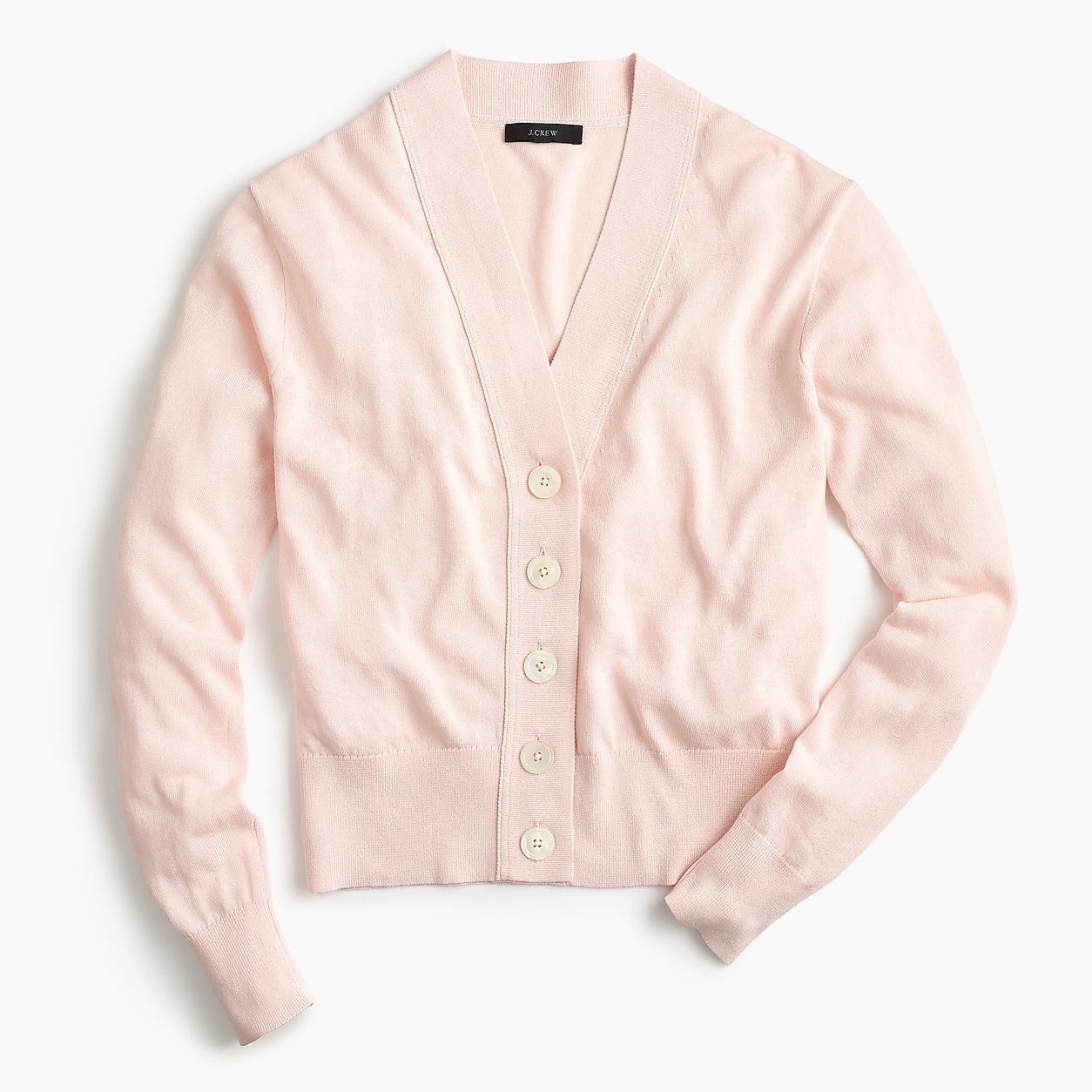 5bbfb25568e Cropped Lightweight Cardigan Sweater