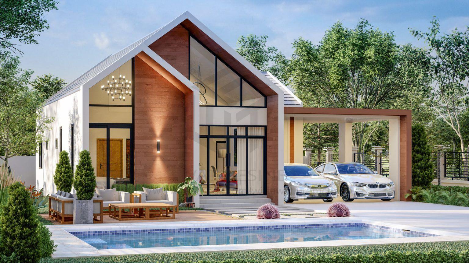 บ านทรงนอร ด กสไตล ย โรป 3 ห องนอน 2 ห องน ำ ฟ งก ช นใช งานครบคร น Thai Let S Go ในป 2021 แบบบ านภายนอก ร ปแบบบ าน สถาป ตยกรรมบ าน