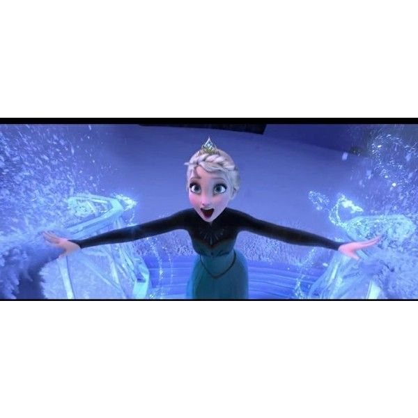 Disney's Frozen <3 ❤ liked on Polyvore featuring disney, frozen and elsa