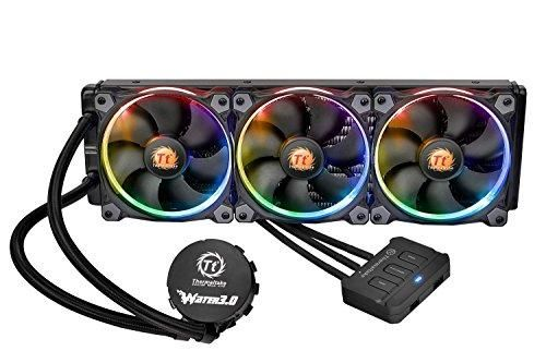 Thermaltake Water 3 0 Riing Rgb 360 40 6 Cfm Liquid Cpu Cooler Water Cooling Technology Gifts Cooling System
