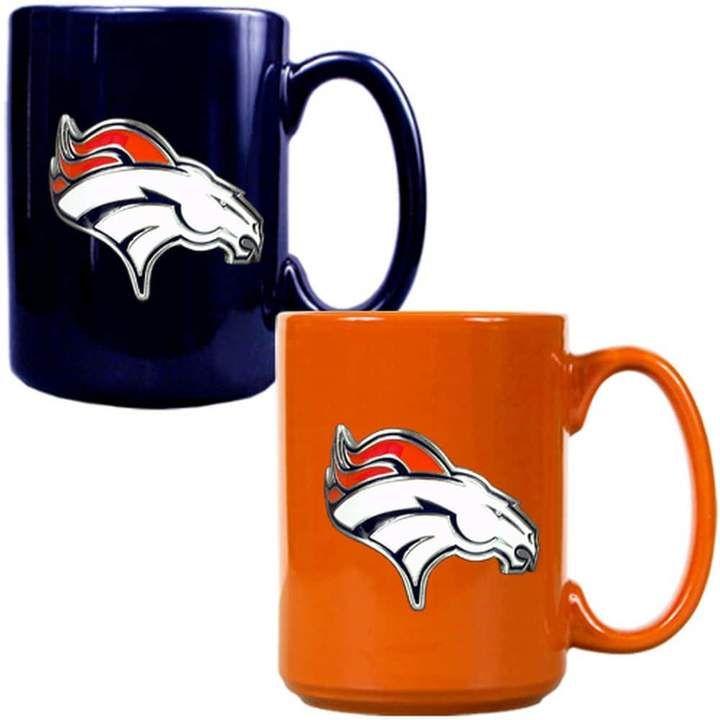 check out b5242 87cec Denver Broncos 2-pc. Ceramic Mug Set in 2019 | All Denver ...