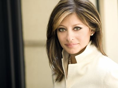 """Maria Bartiromo knows that women are poised to take over the business world: """"Wall Street is probably one of the last men standing, in terms of promoting from within the Boys' Club. If you look across Wall Street today, there are senior women; they're just not in the CEO position. These things take time because people get encroached. You need a support system out there."""""""