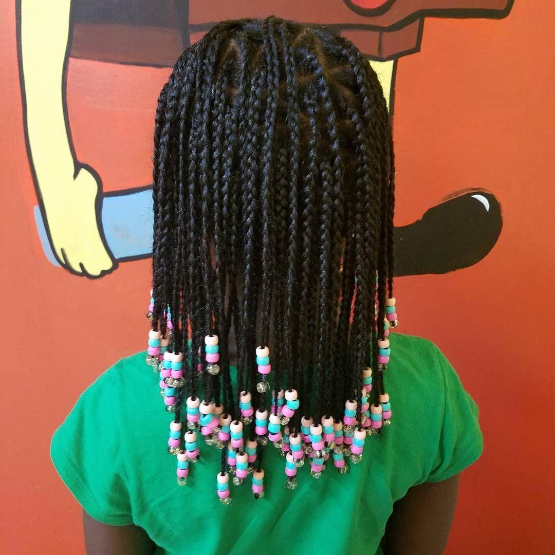 35+ Medium box braids for kids inspirations