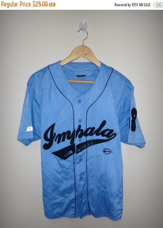 f2e0d4e5d74 IMPALA LOW RIDERS Baseball Shirt Vintage by TwistedFabrics on Etsy ...